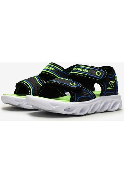 Skechers Hypno-Splash Büyük Erkek Çocuk Siyah Sandalet 90522L Bblm