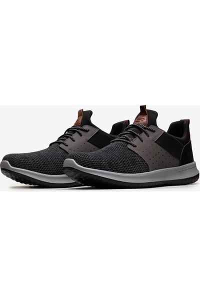 Skechers Delson- Camben Erkek Siyah Günlük Ayakkabı 65474 Bkgy