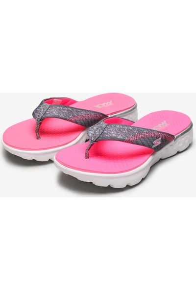 Skechers On-The-Go 400 - Lil' Pizazz Büyük Kız Çocuk Gri Terlik 86747L Gypk