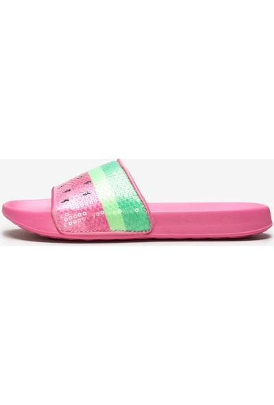 Skechers Sunny Slıdes-Dreamy Steps 86994L Pkmt Büyük Kız Çocuk Pembe Terlik