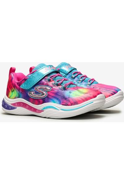 Skechers Power Petals-Flowerspark Büyük Kız Çocuk Çok Renkli Spor Ayakkabı 20203L Mlt