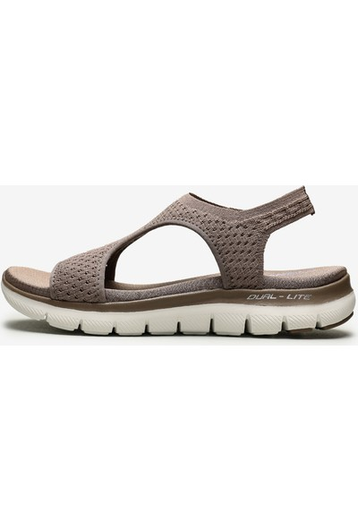 Skechers Flex Appeal 2.0 - Deja Vu 31674 Tpe Kadın Bej Sandalet