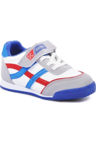 Cosby 3552 Beyaz-Kırmızı-Mavi Çocuk Ayakkabı