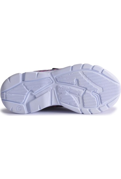 Lafonten 675 Mor-Fuşya Çocuk Spor Ayakkabı