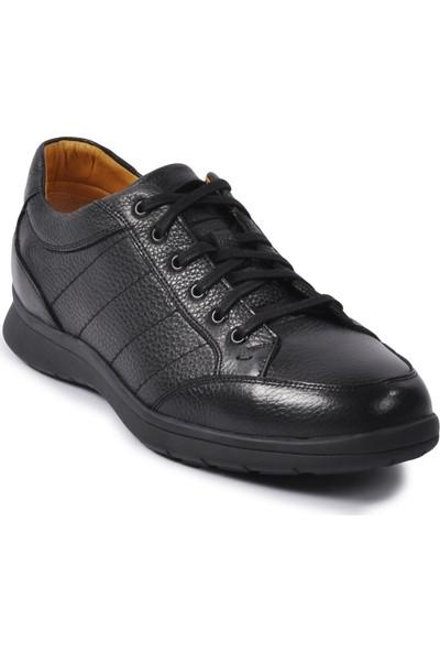 Dr.flexer 793204 Siyah Erkek Deri Günlük Ayakkabı