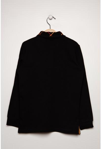 Gs Store Galatasaray Yakası Nakışlı Lisanslı Çocuk Sweatshirt C12444