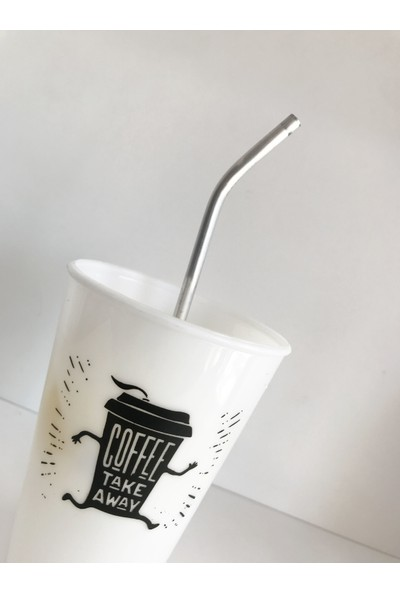 Evimsan Kahve Bardağı -Elit Pipet Seti - Plastik Bardak Elit Pipet Seti