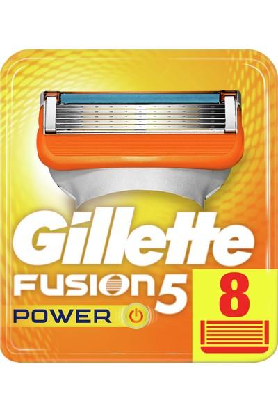 Gillette Fusion 5 Power Yedek 8\'li Karton Ambalaj