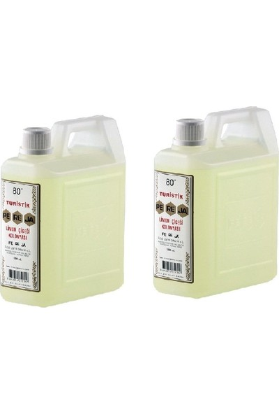 Pereja Limon Kolonyası 1000 ml ( 2 Adet) 80 Derece