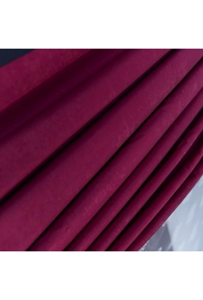Anıper Fuşya Kullanıma Hazır Fon Perde 1 Takım 2 Adet 1'e 2,5 Pile Sıklığı 60 x 270 cm