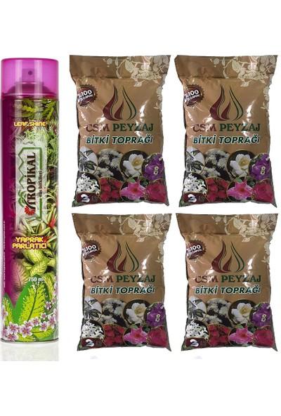 Gül Çiçek Sarayı Yaprak Parlatıcısı Organik Çiçek Toprağı