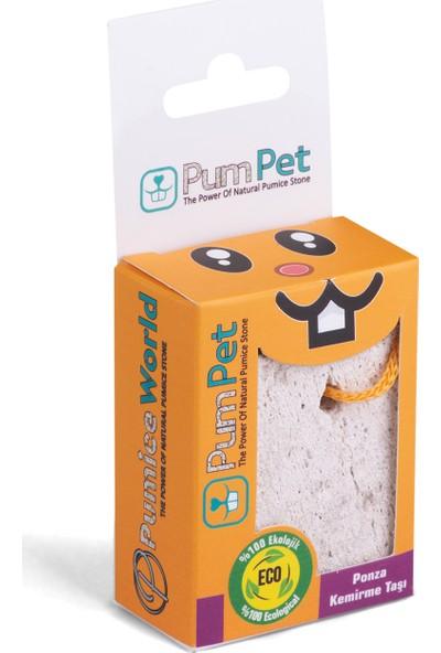 Pum Pet Ginepig - Hamster - Tavşan Kemirgen Taşı %100 Doğal Ponza Kemirme Taşı