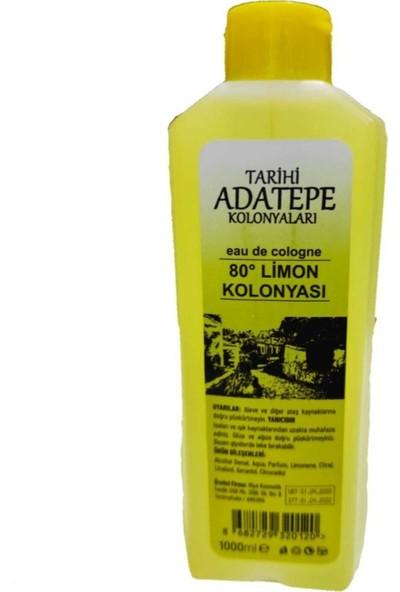 Tarihi Adatepe 1 Litre Limon Kolonyası