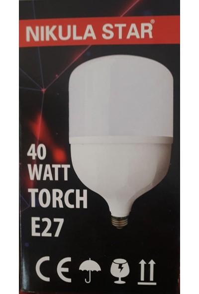 Nıkula Star 40 W Torch Ampül