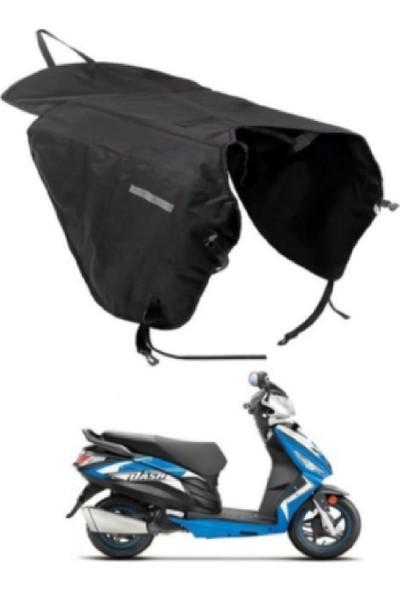 Yrc Motosiklet Scooter Diz Bacak Rüzgar Koruyucu Yağmurluk Örtüsü