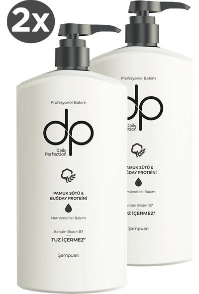Dp Pamuk Sütü ve Buğday Özlü Şampuan 800 ml 2'li Set
