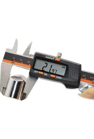 Valkyrie 150 x 0,01 mm Dijital Paslanmaz Çelik Elektronik Hassas Kumpas