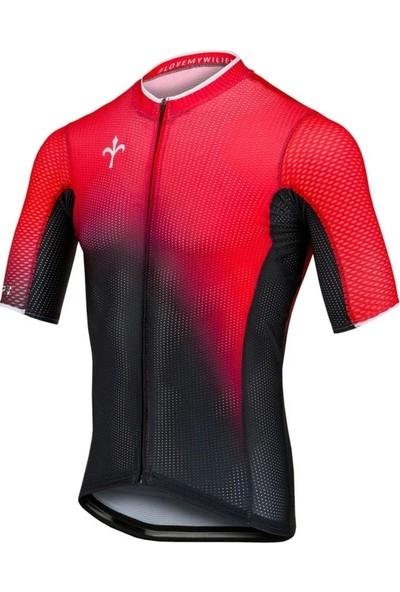 Wilier Bisiklet Forma Kırmızı Siyah L
