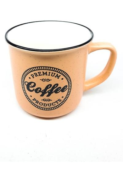 Kosova Coffe Kupa Turuncu Renkli