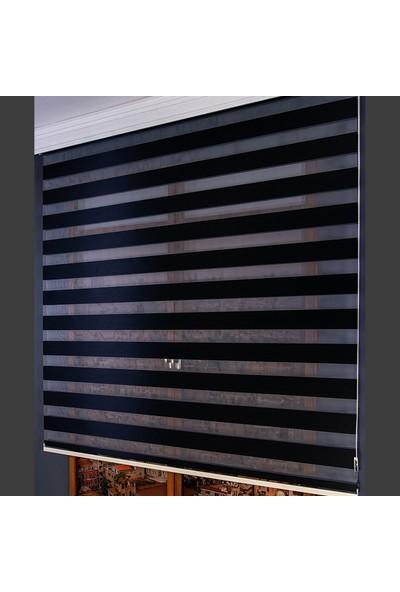 Anıper Zebra Perde Siyah Bamboo 70 x 200 cm