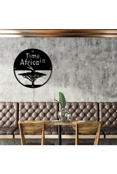 Liviqon Time In Africa - Duvar Saati