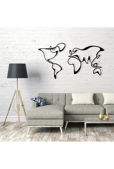 Liviqon Soyut Dünya Haritası - Abstract World Map