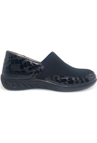 Delta Kadın Deri Rahat Comfort Ayakkabı