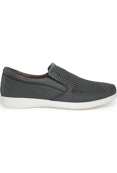 Delta Bağcıksız Erkek Yazlık Nubuk Deri Ayakkabı