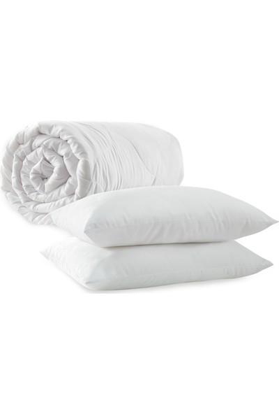 Yataş Bedding Handy Roll Pack Yastık Yorgan Seti ( Çift Kişilik 195X215 Cm)