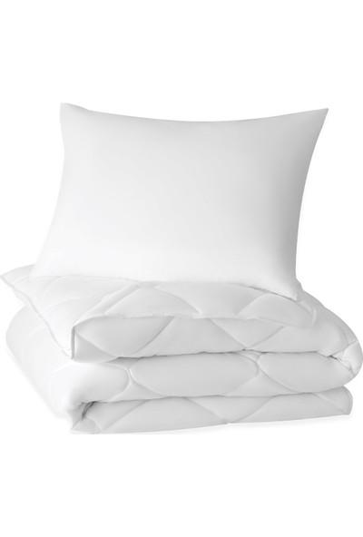 Yataş Bedding Dacron Duo Yastık Yorgan Seti ( Tek Kişilik 155X215 Cm)