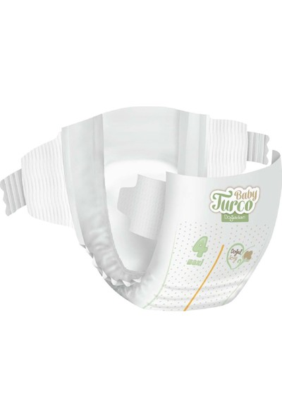 Baby Turco Doğadan Bebek Bezi 4 Numara Maxi 150'li