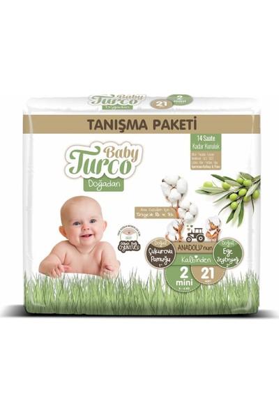 Baby Turco Doğadan 2 Numara Mini Tanışma Paketi 21'li