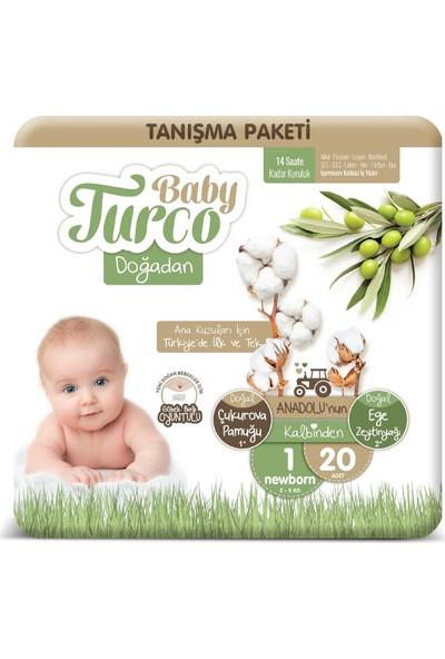 Baby Turco Doğadan 1 Numara Newborn Tanışma Paketi 20'li