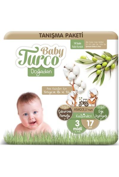 Baby Turco Doğadan 3 Numara Midi Tanışma Paketi 17'li