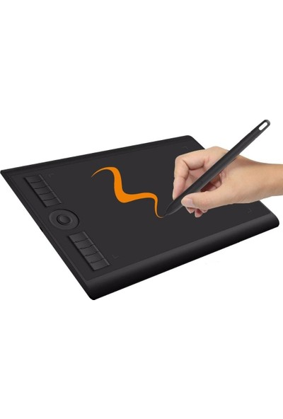 "Gaomon M10K PRO 10X6.25"" 8192 Grafik Tablet"
