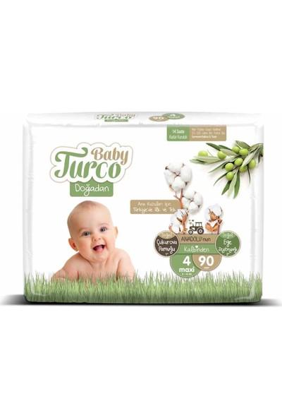 Baby Turco Doğadan 4 Numara Maxi 90'lı