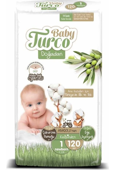 Baby Turco Doğadan 1 Numara Newborn 120'li