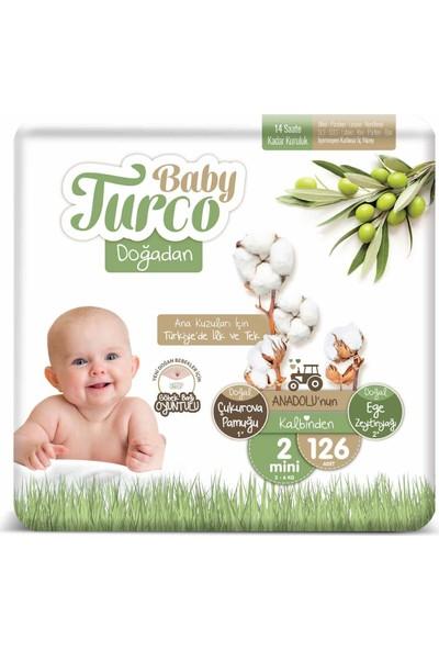 Baby Turco Doğadan 2 Numara Mini 126'lı