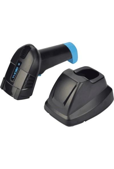 Yhdaa 6100LW 1d Tek Çizgili Standlı Lazer USB Kablosuz Barkod Okuyucu