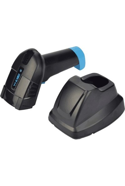 Yhdaa Yhda 6100DW USB 2d 1d Qr Kod Karekod Standlı Kablosuz Barkod Okuyucu