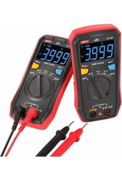 Unı-T Unit UT123 LED Ekran Otomatik Multimetre Çok Amaçlı
