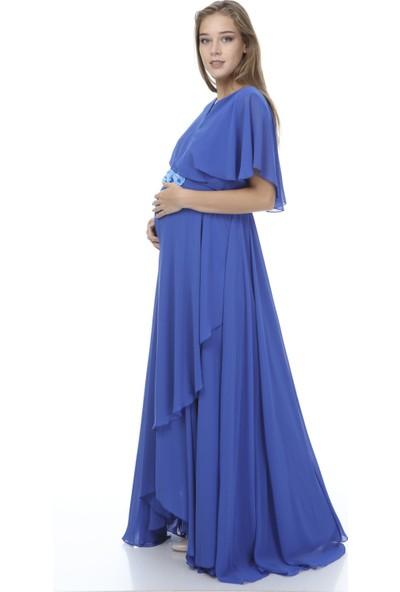 Entarim Hamile Baby Shower Abiye Elbise