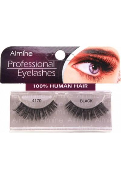 Almine Profesiosnal Eyelashes Black 4166