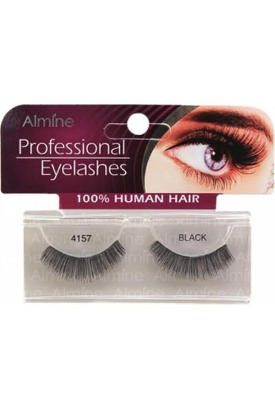 Almine Profesiosnal Eyelashes Black 4157