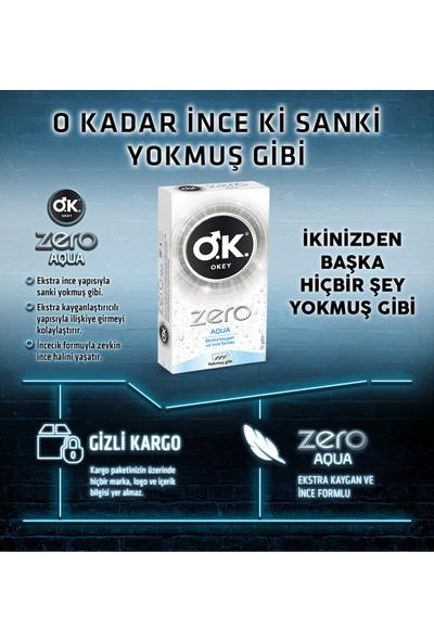 Okey Zero Aqua 10'lu