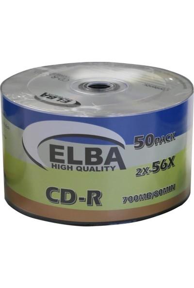 Elba Cd-R 700 MB 80 Min 56X 50 Adet