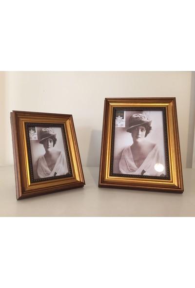 Lotus Ahşap 2'li Resim Çerçeve 10 x 15 - 15 x 21 cm