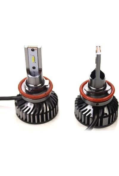 Shark H4 LED Far Ampülü LED Xenon 48W 9600 Lumen Canbus Power LED