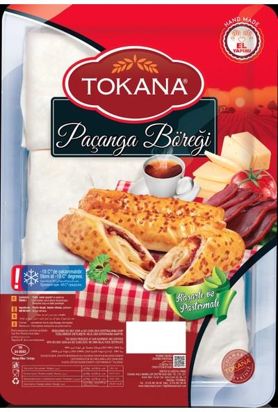 Tokana Fırınlı Üçgen Mantı 1500 gr + Tokana Pastırmalı Paçanga Böreği 400 gr
