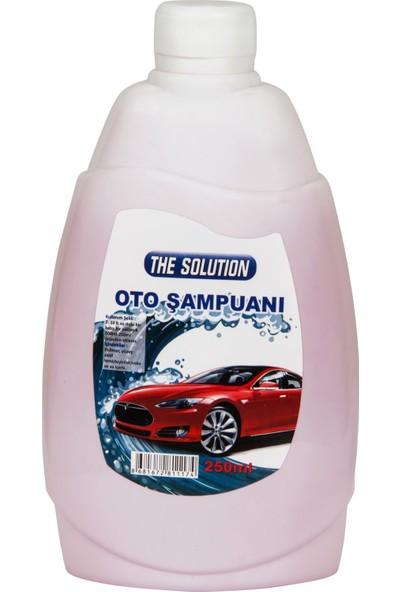 The Solution Oto Araç Temizleme Şampuanı ve Süngeri 500 ml